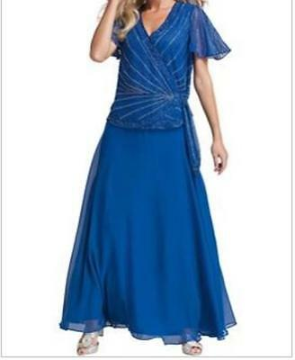 Women's Wedding Mother of Bride Groom evening formal gown dress plus XL 1X 2X 3X