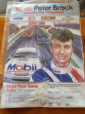 Peter Brock Mobil Early 90s Game Holden VP Commodore Rare Memorabilia