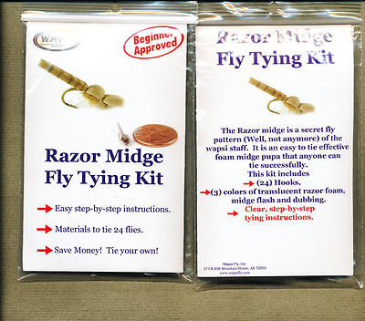 Fly tying kit - razor midge