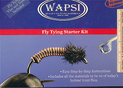 Fly Tying Starter Kit  (Wapsi)