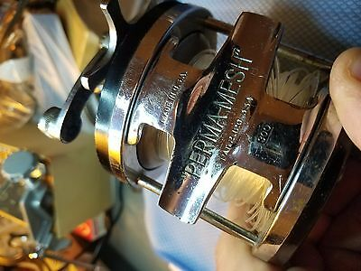 "Vintage Albacore ""perma-Mesh"" Fishing Reel Working Condition"