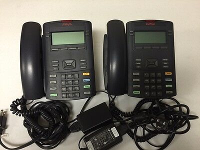Lot Of 2 Avaya Ip Void Phone Ntys19 Office Business Telephone 1220