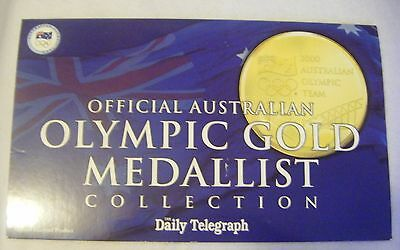 Official Australian Olympic gold medalist gold collection.Daily Telegraph 2000(i
