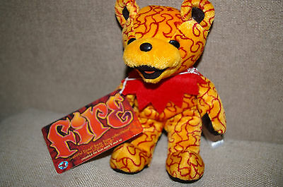 Teddy Bear Grateful Dead Bear Fire with original tags