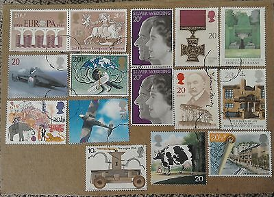 **Collection of Great Britain Stamps**