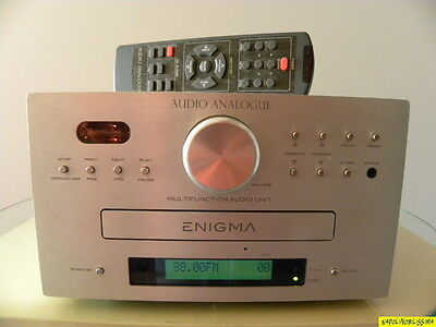 """Audio Analogue  """"Enigma"""" Hybrid Valve   ALL - In - One  Systems"""