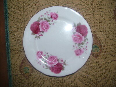 Queen Anne Bone China side plate roses replacement.