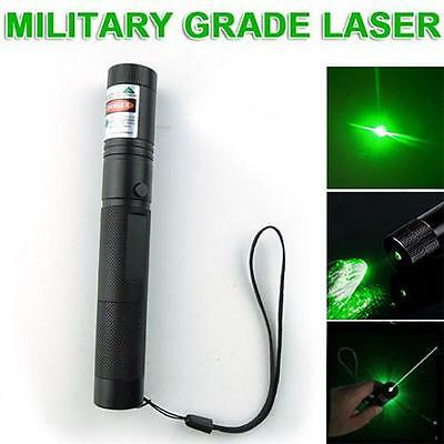 10 miles Military Green 5mw 532nm Laser Pointer Pen Light Visible Beam Burning A
