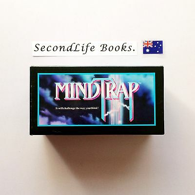 (Vintage) MINDTRAP: Challenge The Way You Think ~ Ventura Games (1991).