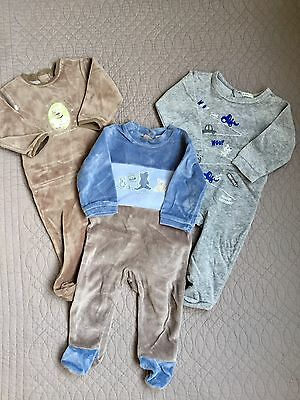 Lot de 3 pyjamas garçon (9 mois) Absorba et Little Star