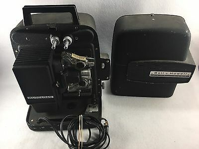 Vintage Bell & Howell Auto Load Projector Model 256 AB Tested and working