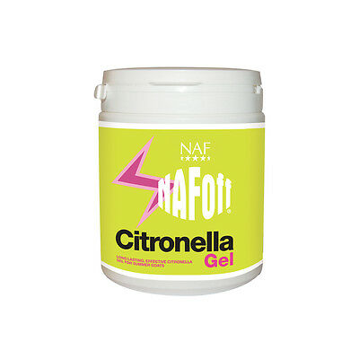 NAF OFF CITRONELLA GEL 750 G mosquito fly insect repellent for horse & pony