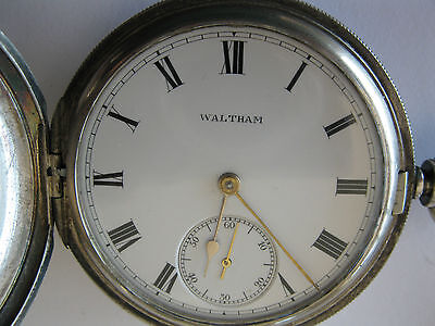 Waltham hunter pocket watch made in 1903