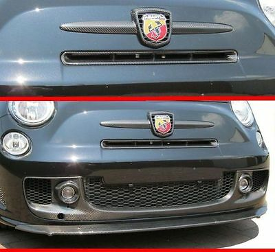 Abarth 500 Lester Lufteinlass Kühlergrill Carbon