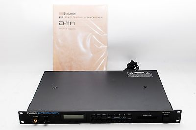 Roland D-110 Sound Module Vintage Digital Multitimbral Synthesizer From Japan