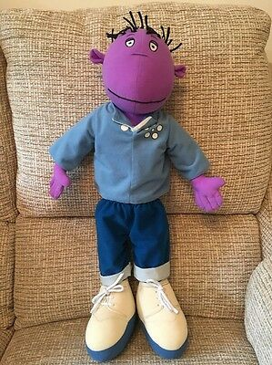 "The Tweenies Large 22"" Tall Milo Soft Toy  Doll Vgc"