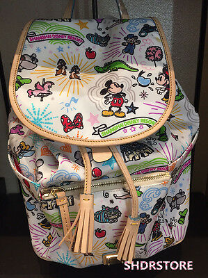SHDR Dooney & Bourke Backpack BAG SHANGHAI DISNEYLAND DISNEY RESORT
