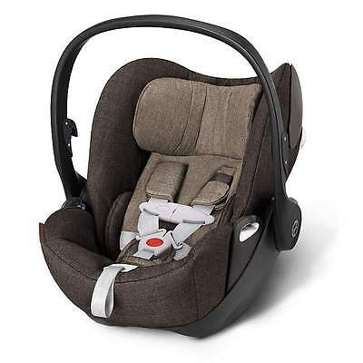 Ovetto auto Cybex cloud q plus colore desert khaki con base isofix
