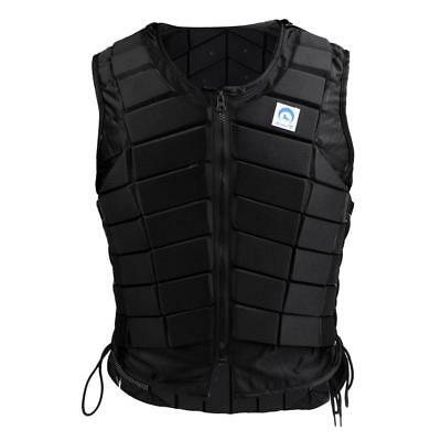 Women Safety Equestrian Vest Body Protector Padded Lightweight Waistcoat S