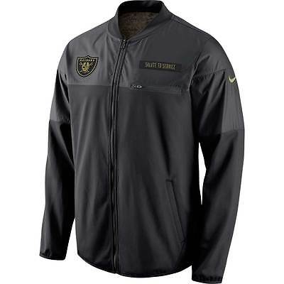Nike Oakland Raiders 2016 NFL Salute to Service Hybrid Jacket (XL) - NEW