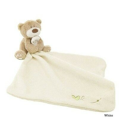 2 Colors Love So Much Bear Blankie Development Soft Baby Toy Newborn Gift Toy US