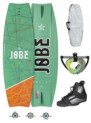 Jobe Artist Wakeboard Package Complete Set with Maze Binding