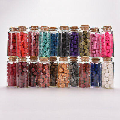20 Colors Bottled Sealing Wax Bead Granule For Letter  Wedding Invitation GiftWF