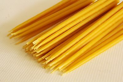 50 pcs Beeswax candles for church and home high quality. Church candles. Prayer