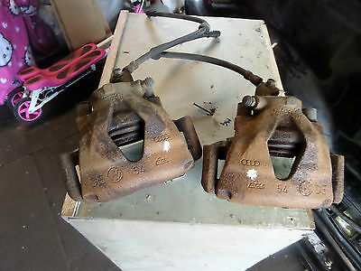 Mk4 Golf Gti 1.8T Front Brake Calipers And Carriers 288Mm