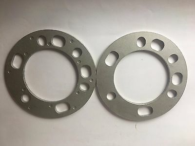 Toyota Land Cruiser Wheel Spacers 6mm thick 2 pcs. 6 x 139.7mm PCD. 6 Stud