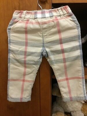 Burberry Trousers 9month