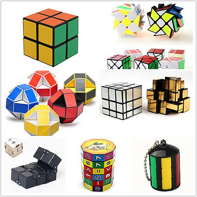 New Magic Cube Collection Twist Brain Cube Puzzle Toys Autism ADHD Focus Toy