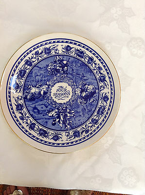 Ringtons The Four Seasons Decorative Plate