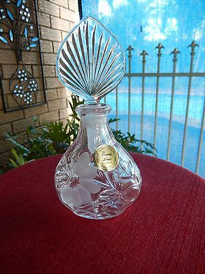 Princess House Perfume Bottle With Label