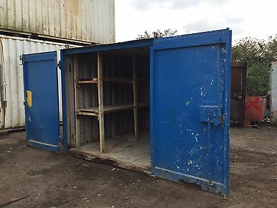 Steel Storage Container 10ft by 8ft Anti Vandal Steel (More Available)