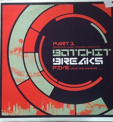 "Various ‎– Botchit Breaks 5 (Part 1) 2 x 12"" Botchit & Scarper ‎bos2lp017 part 1"