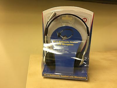 Lot of 250 x NEW Maplin PC & Multimedia Headset with Microphone