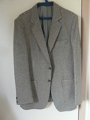 Houndstooth Mens Jacket - Made In Australia - Fully Lined