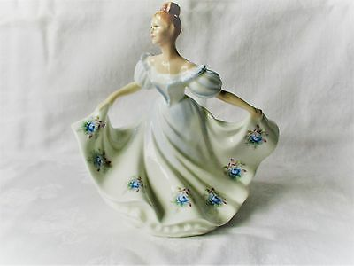 Beautiful Figurine Of A Lady By Royal Doulton, England  -  Kathy