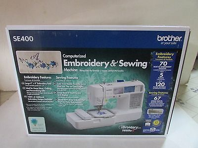 Brother Computerized Sewing and Embroidery Machine