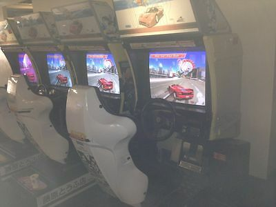 Outrun 2 Special Tours Arcade Machine Twin Sit Down Working, Original Hardware