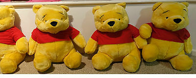 4 LARGE 19inch POOH BEARS BOXED NEW
