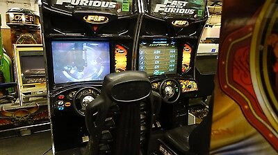 Fast & Furious Single Sit Down Arcade Machine Coin Op Working