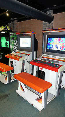 SUPER ST FIGHTER IV - 4 ARCADE E 32in LCD SIT DOWN LARGE ARCADE GAME MACHINE