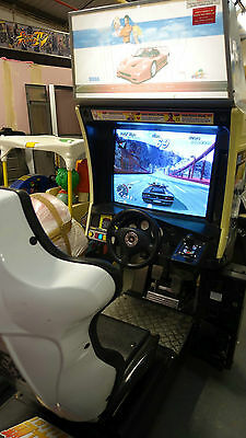Outrun 2 Special Tours Single Sit Down Working, Original Hardware