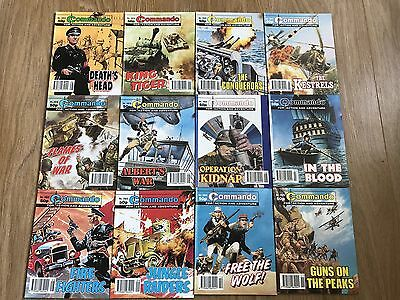 Commando comics x12 - Consecutive No. 2914 - 2925 - VERY good condition