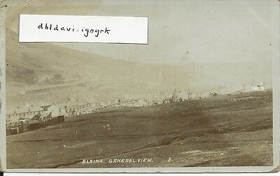 Vintage RP postcard of Blaina, general view, Monmouthshire