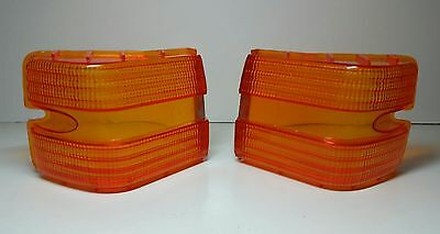 Ford Xc Gxl Falcon Rear Amber Lens Pair  New Will Suit Fairmont