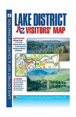 Lake District Visitors Map (A-Z Visitors Map) - Book