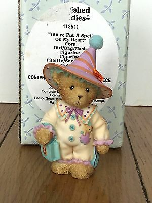 "Cherished Teddies  CORA -  "" You've Put A Spell On  My Heart "" - 2003 Halloween"
